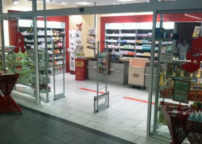 Warensicherung für Apotheke