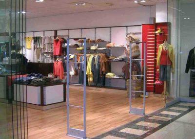 Warensicherung für Modeboutique