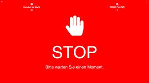 Zutrittssteuerung STOP-ROT
